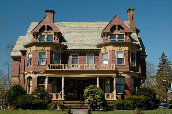 Providence rhode island architecture 1700 1920 homes for Rhode island home builders