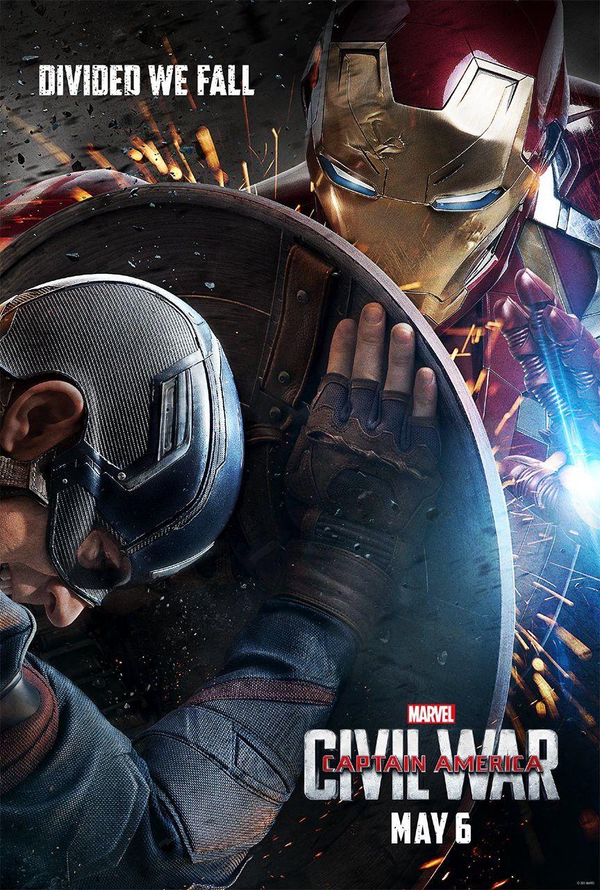 Captain America Civil War Divided We Fall Supereroi Avengers Marvel