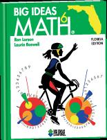 Big Ideas Math 6th grade ebook with workbook   Home school