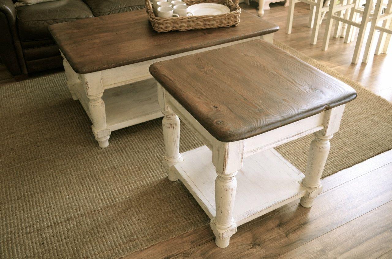 Farmhouse Coffee Table Sets 4
