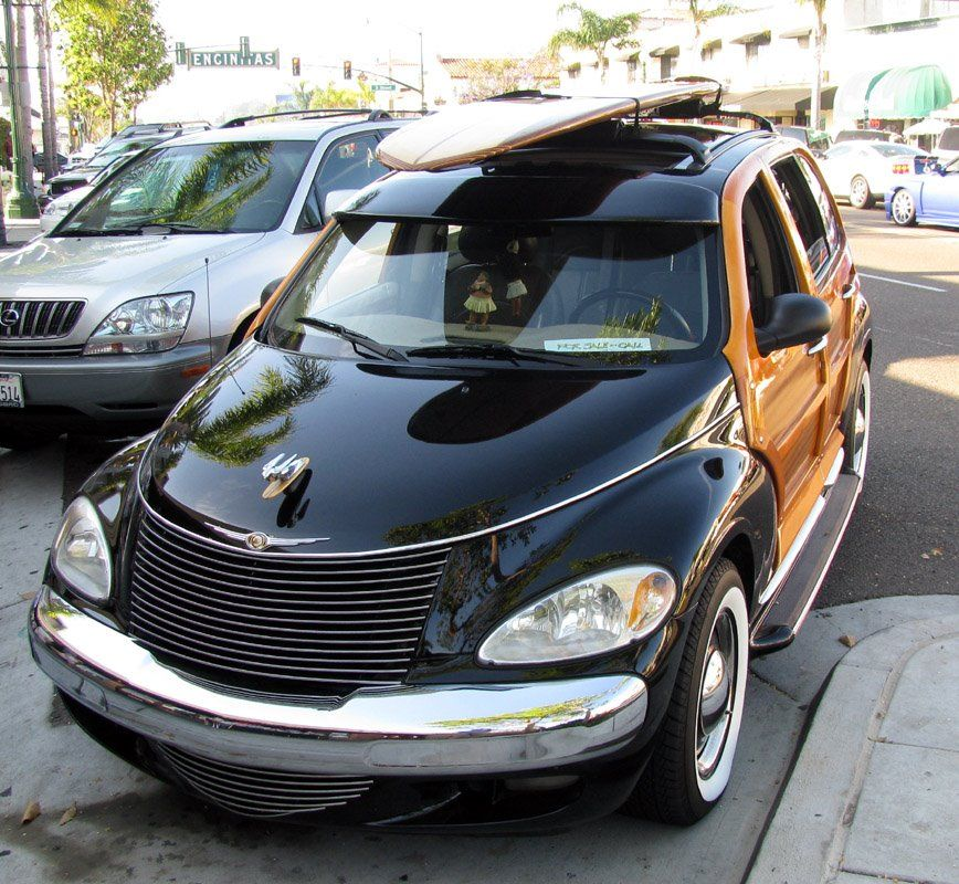 2 Of 10 Woody Custom Pt Cruisers Made In Riverside One Got The