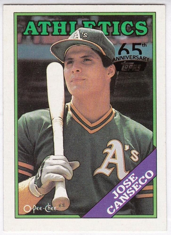 Park Art My WordPress Blog_Jose Canseco Rookie Card Topps 620