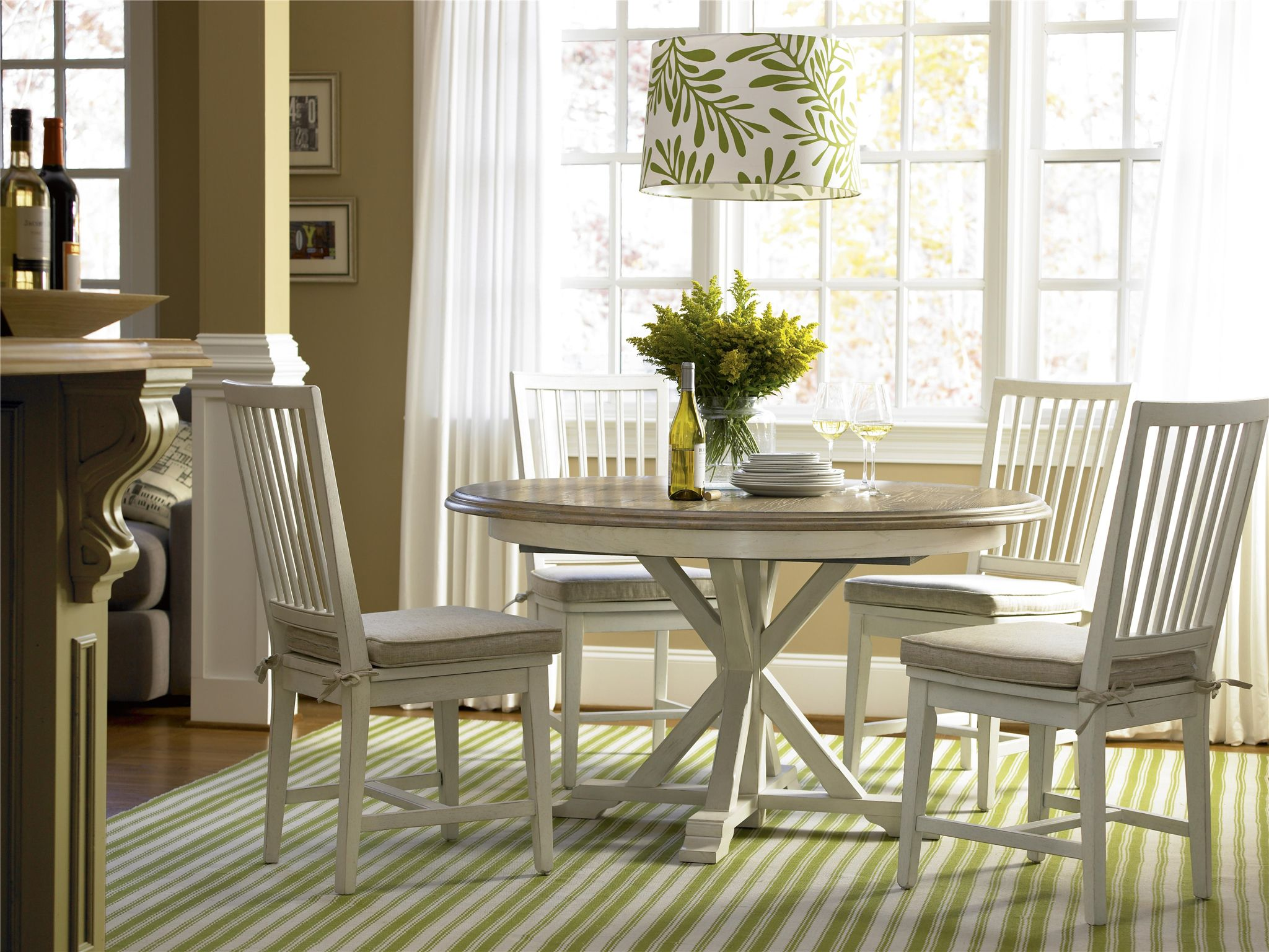 Casual Dining and Accents   Garden Breakfast Table   Round dining ...