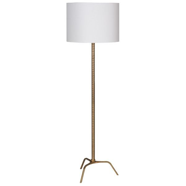 Worlds away greyson floor lamp gold or silver