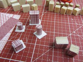 How to make dollhouse kitchen storage tins
