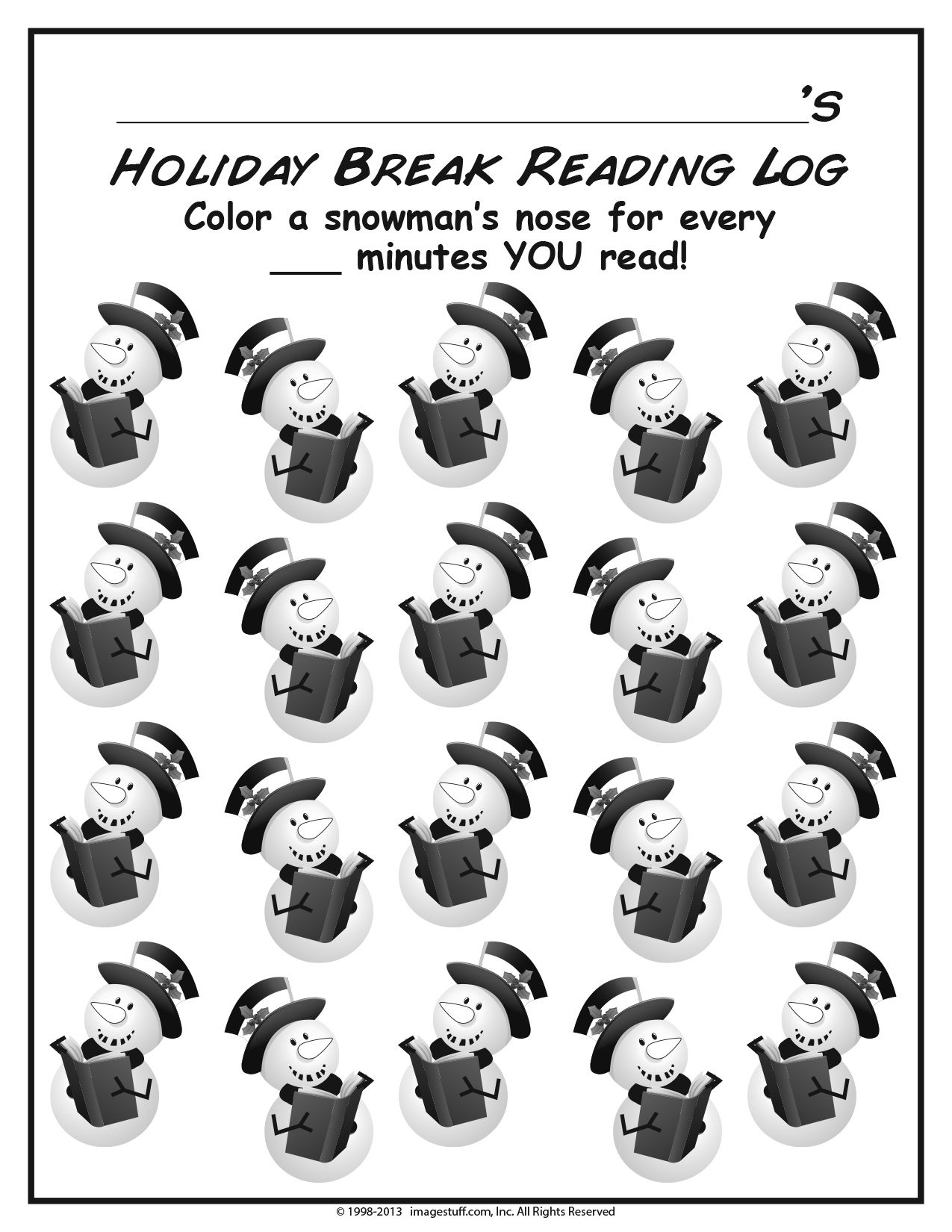 Keep You Re Little Whos Reading Over The Winter Break With Our Free Holiday Reading Worksheet