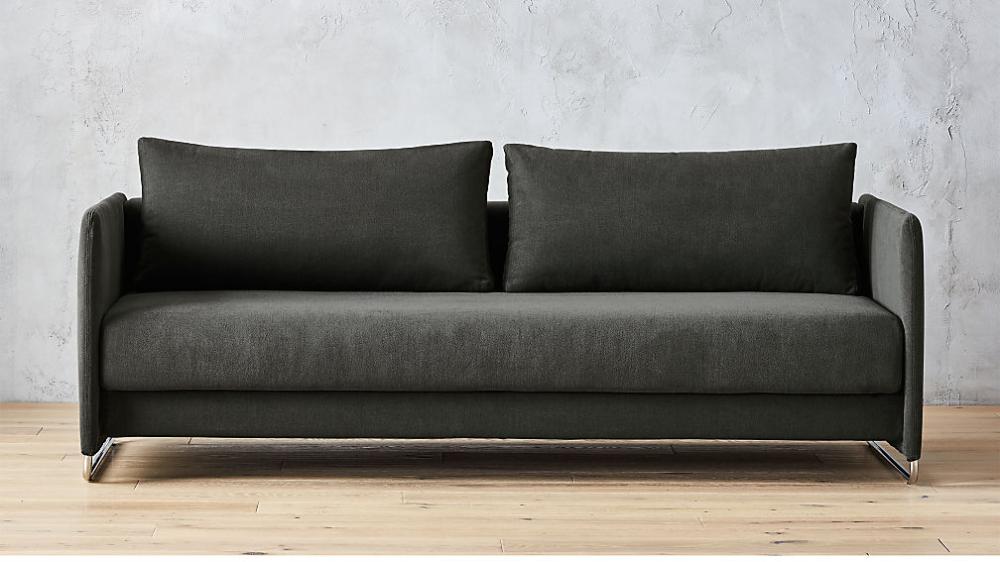 Tandom Dark Grey Sleeper Sofa + Reviews in 2020 Best