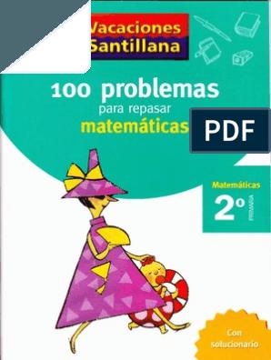 110 Ejercicios Para Mejorar La Comprension Lectora Santillana 1 Actividades Divertidas De Matemáticas Problemas Matemáticos Cuaderno De Lectoescritura