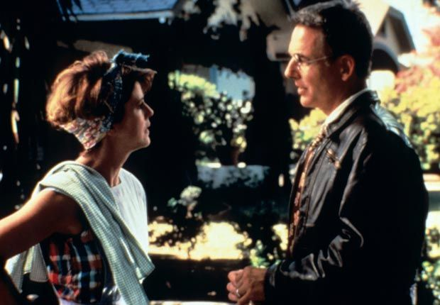 Pam Dawber and Mark Harmon in I'LL REMEMBER APRIL