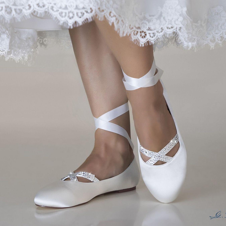 Scarpe Da Sposa On Line Economiche.Ballerine Sposa Online Economiche Collezione 2019 Scarpe Da
