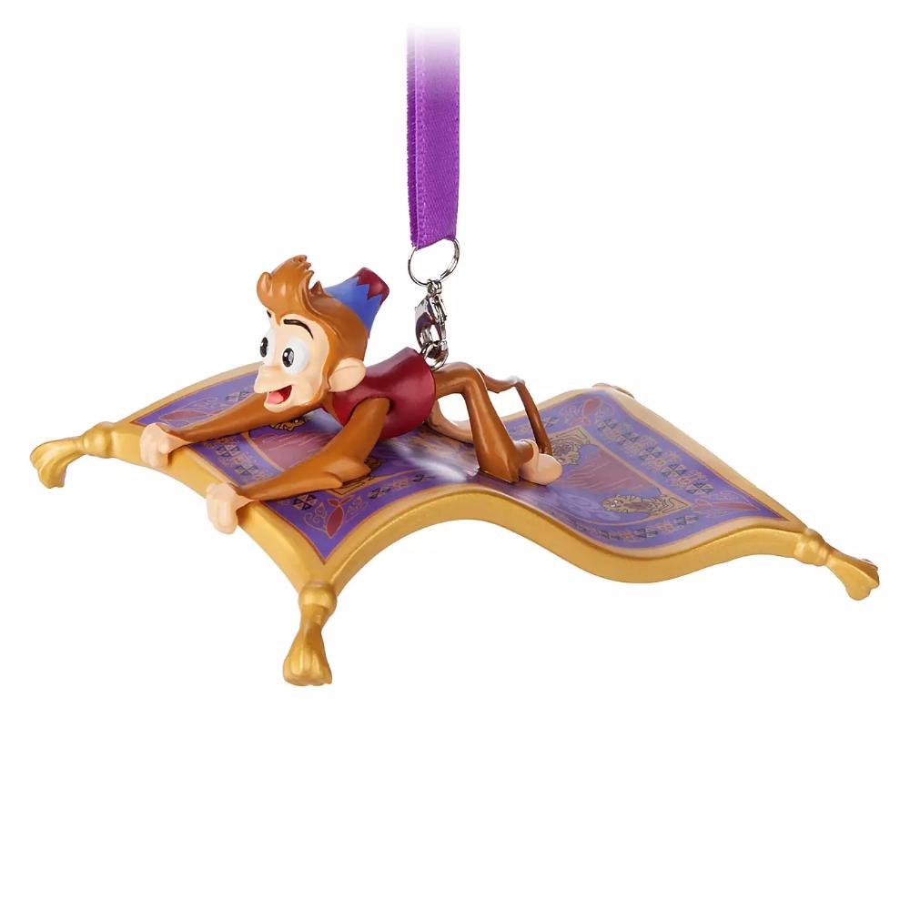 Abu and Magic Carpet Figural Ornament Aladdin
