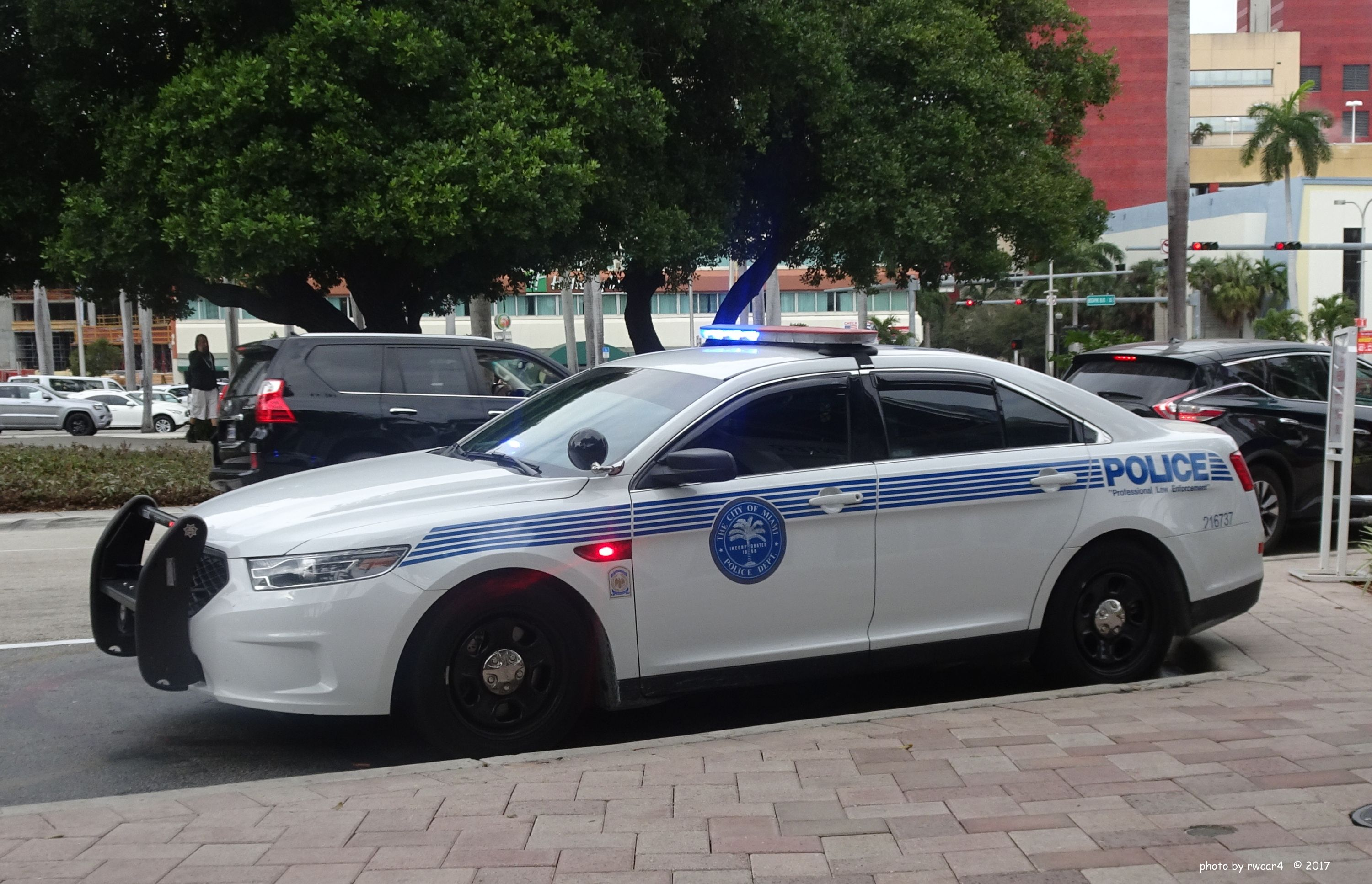 Florida South City Of Miami Police Department Ford Interceptor