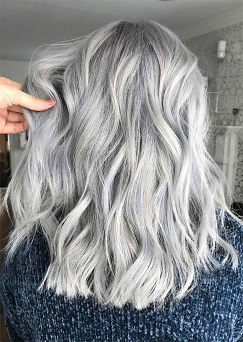 Silver Hair Trend Grey Hair Colors Tips For Going Gray Silver Hair Color Hair Styles Grey Hair Color