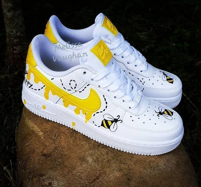 air force 1 giallo pastello