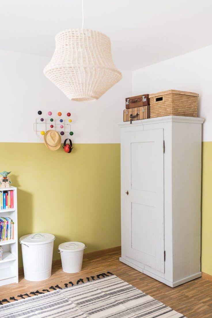 Neue Wandfarbe im Jungszimmer Wandfarbe kinderzimmer