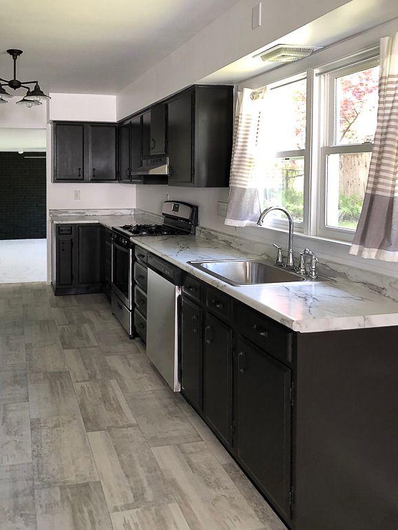 Black Cabinet Pulls For Flip House Kitchen | House color ...