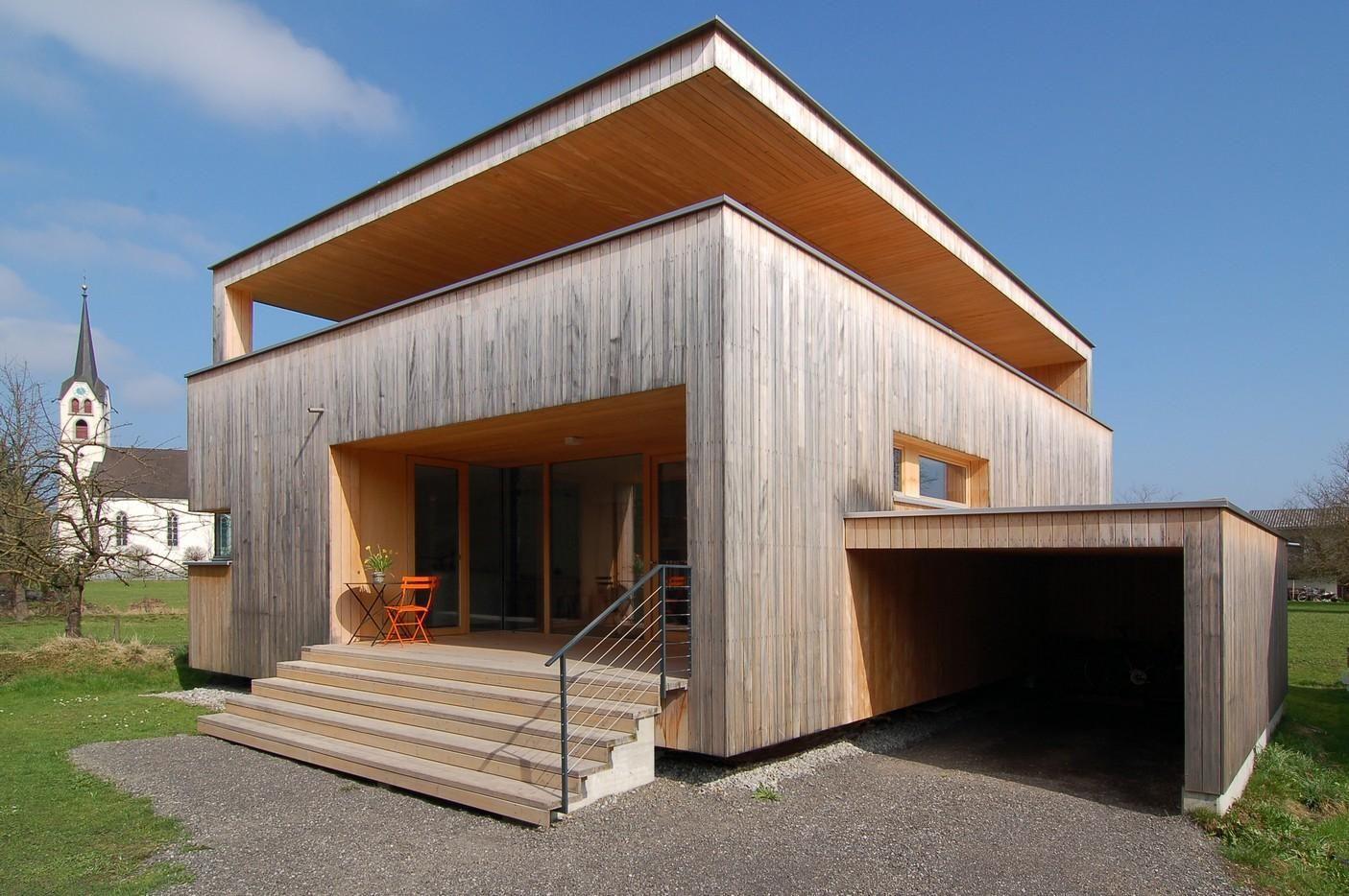 einfamilienhaus in gaissau by k_m architektur - Gaissau, Austria ...