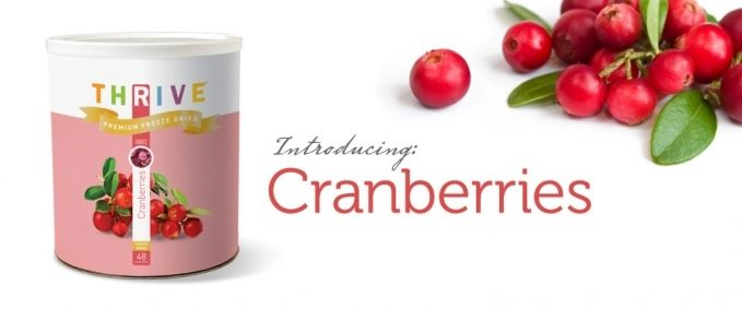 So excited to try these - freeze dried cranberries!