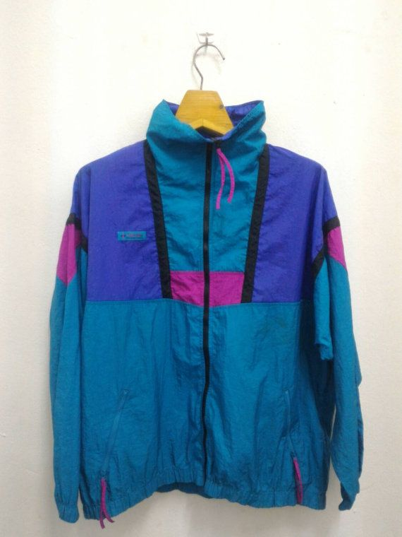 Vintage 90s Retro Columbia Women Neon Outdoors The North Face Pullover  Sweater Lightweight Patagonia Hip Hop Penfield Bomber Jacket 897e12ec9