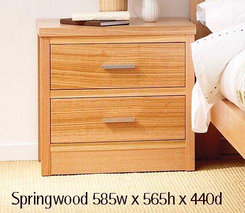 Springwood Bedside Australian Made Solid Victorian Ash Choice Of Stains Tables