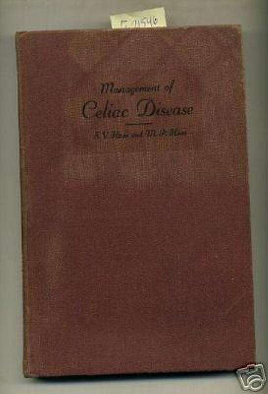 SIDNEY HAAS Management of Celiac Disease CARB DIET 1951 ...