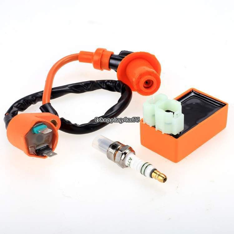 Scooter High Performance Ignition Coil GY6 50 150cc Chinese Scooters Racing Coil