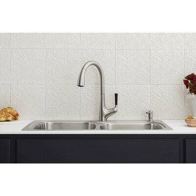 Kohler Kohler All In One Dual Mount Stainless Steel Kitchen Sink