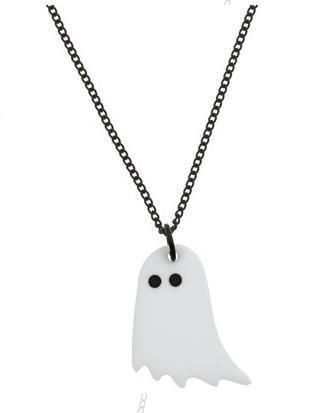 tatty devine ghost necklace... Packman