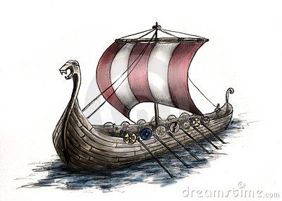 Viking Ship 3 | For the Love of Norway | Pinterest | Vikings and ...