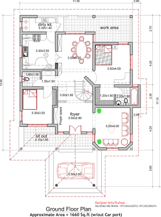 Image Result For 2000 Sq Ft Indian House Plans Architectural House Plans Indian House Plans
