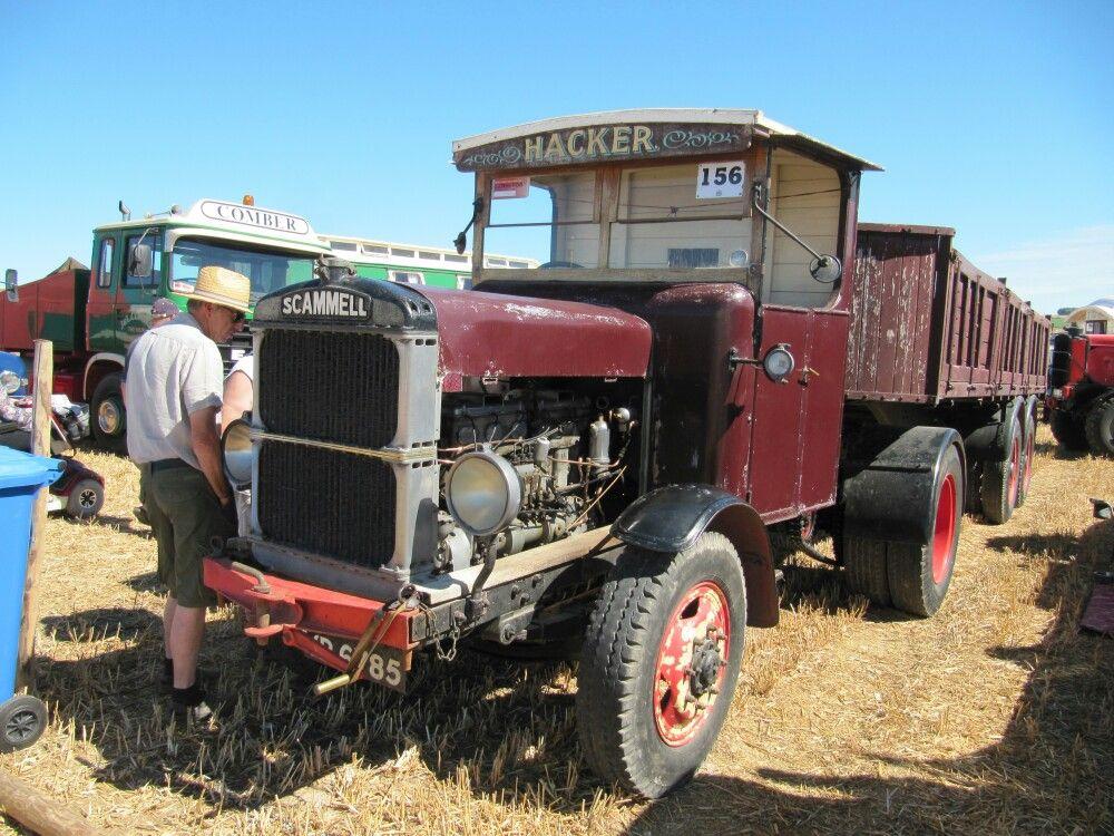 Scammell lorry at Dorset Steam Fair 2016 Heavy duty