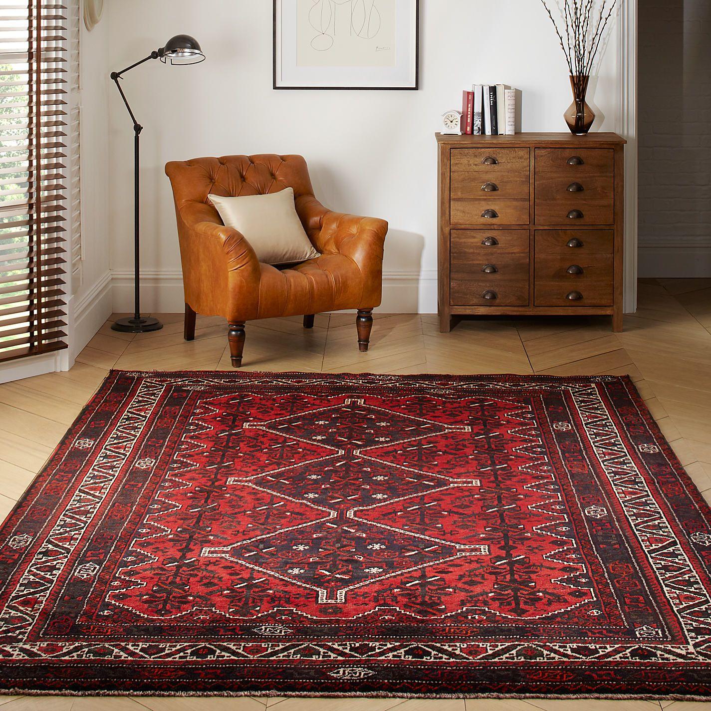 Alfombra shiraz anudada a mano en ir n alfombras - Alfombras persas barcelona ...