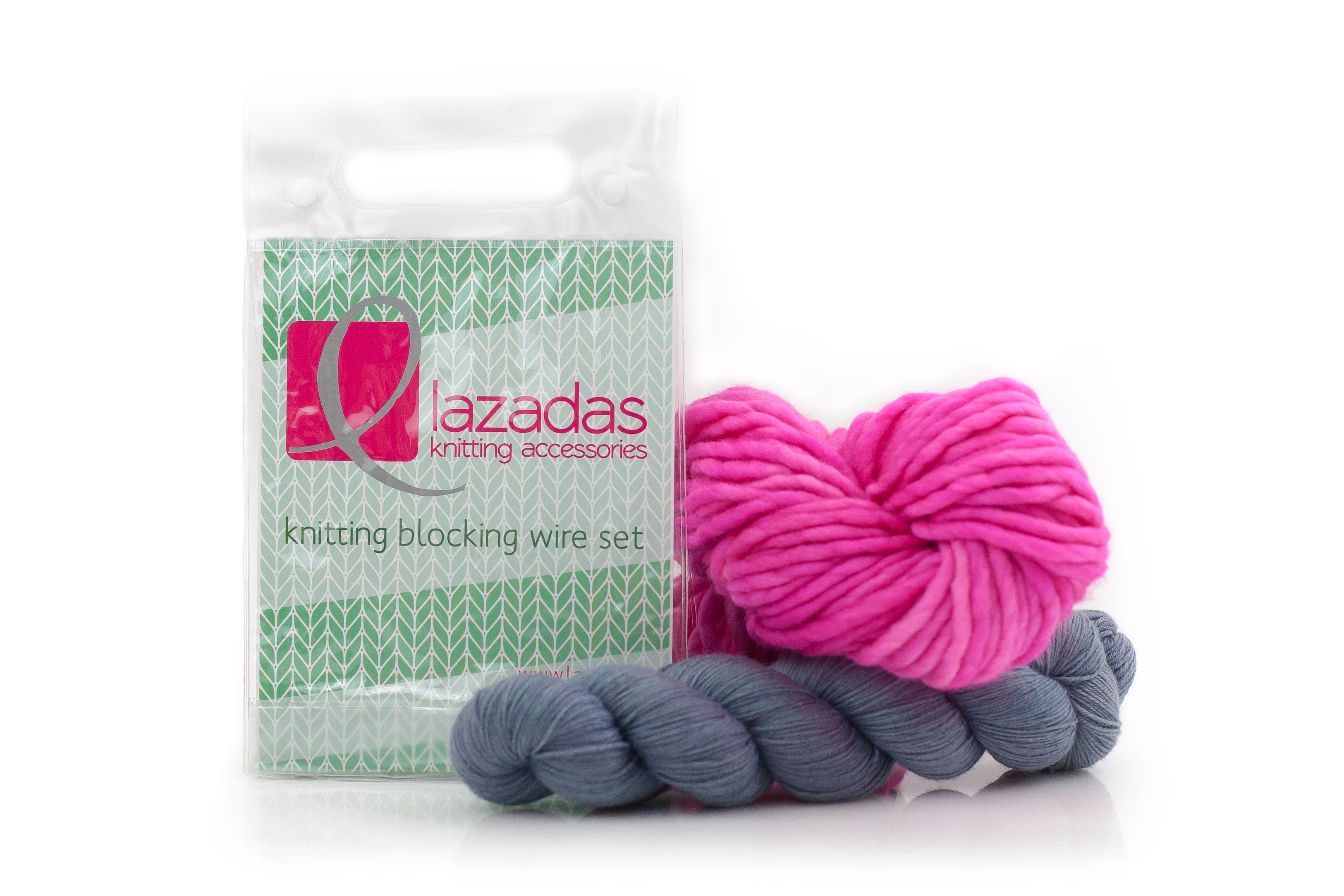 Super Flexible Blocking Wire Set At Lazadas Net With Images Blocking Wires Knitting Help Knitting Blocking