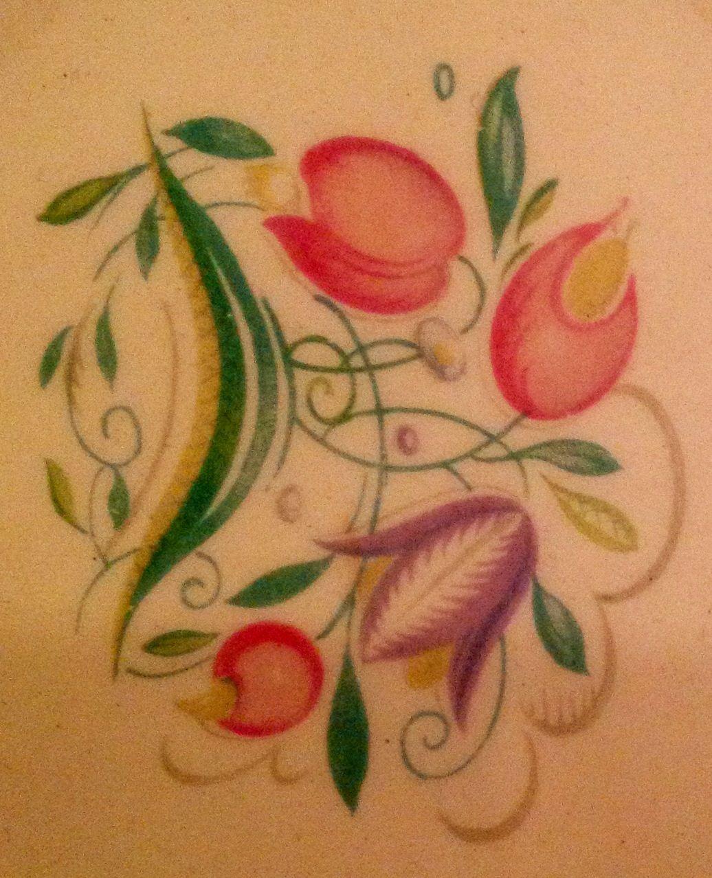 Susie Cooper design - close up