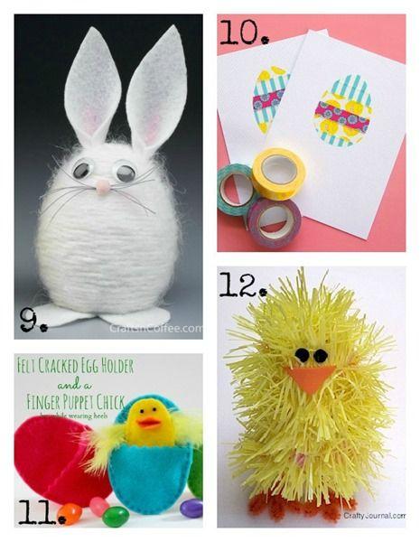 16 Simple y Rápida Oficios de Semana Santa para niños