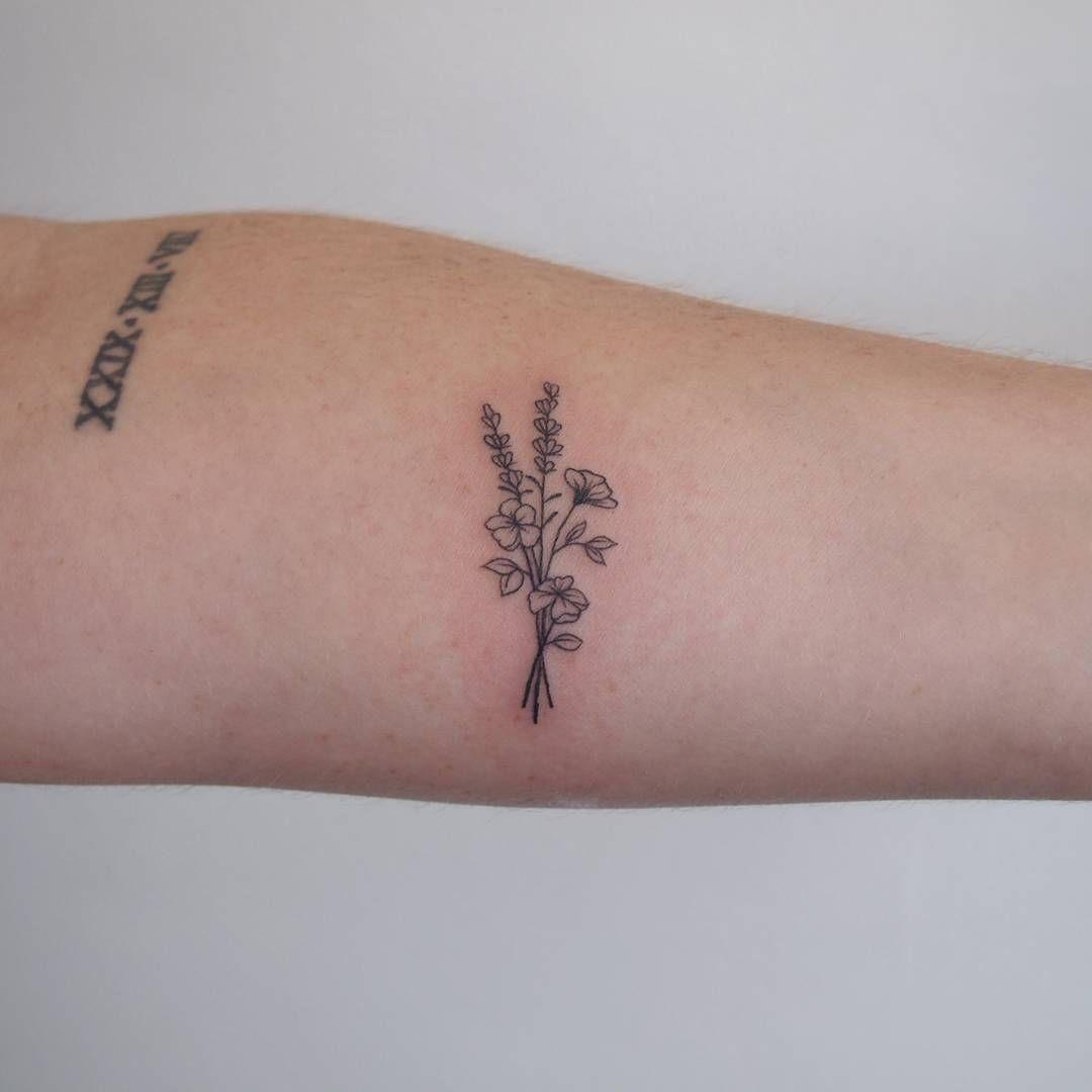 Flowers tattoo tattoopeople toronto 타투 타투피플 토론토