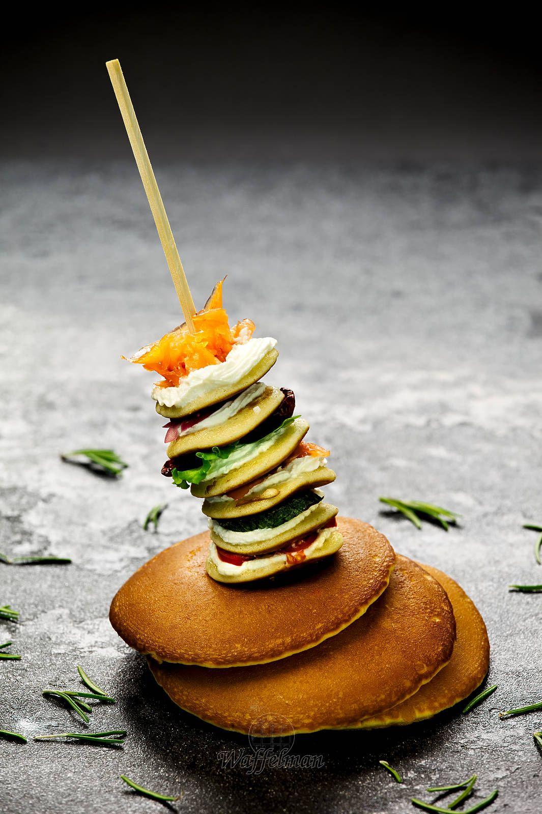 Pancakes salati di Waffelman