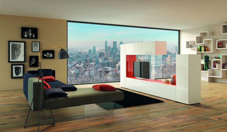 Composizioni Soggiorno Design ~ Composizioni soggiorno: composizione 36e8 side storage da lago