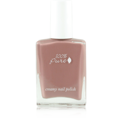 Creamy Polish: Velveteen from 100 Percent Pure | Find more cruelty-free beauty @Quirkist |
