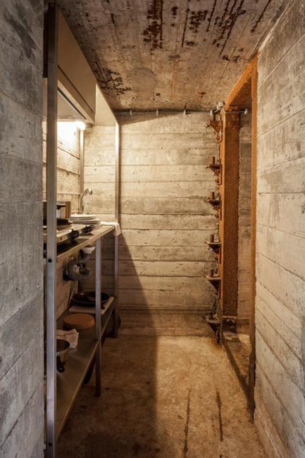 Conversion Design Idea Transforming Military Bunker Into Small