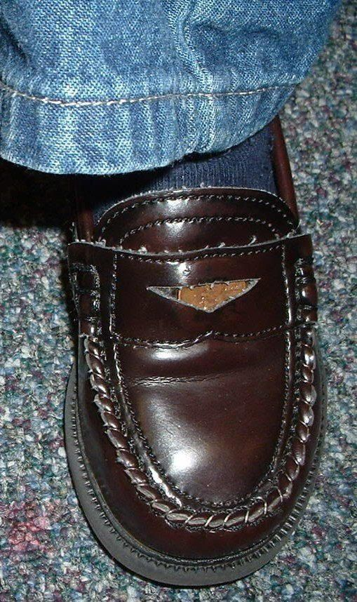 Penny Loafer- really? Yes.... Wore them. | Shoes, Dress ...