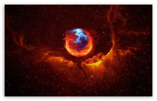 Firefox Nebula HD desktop wallpaper : High Definition : Fullscreen