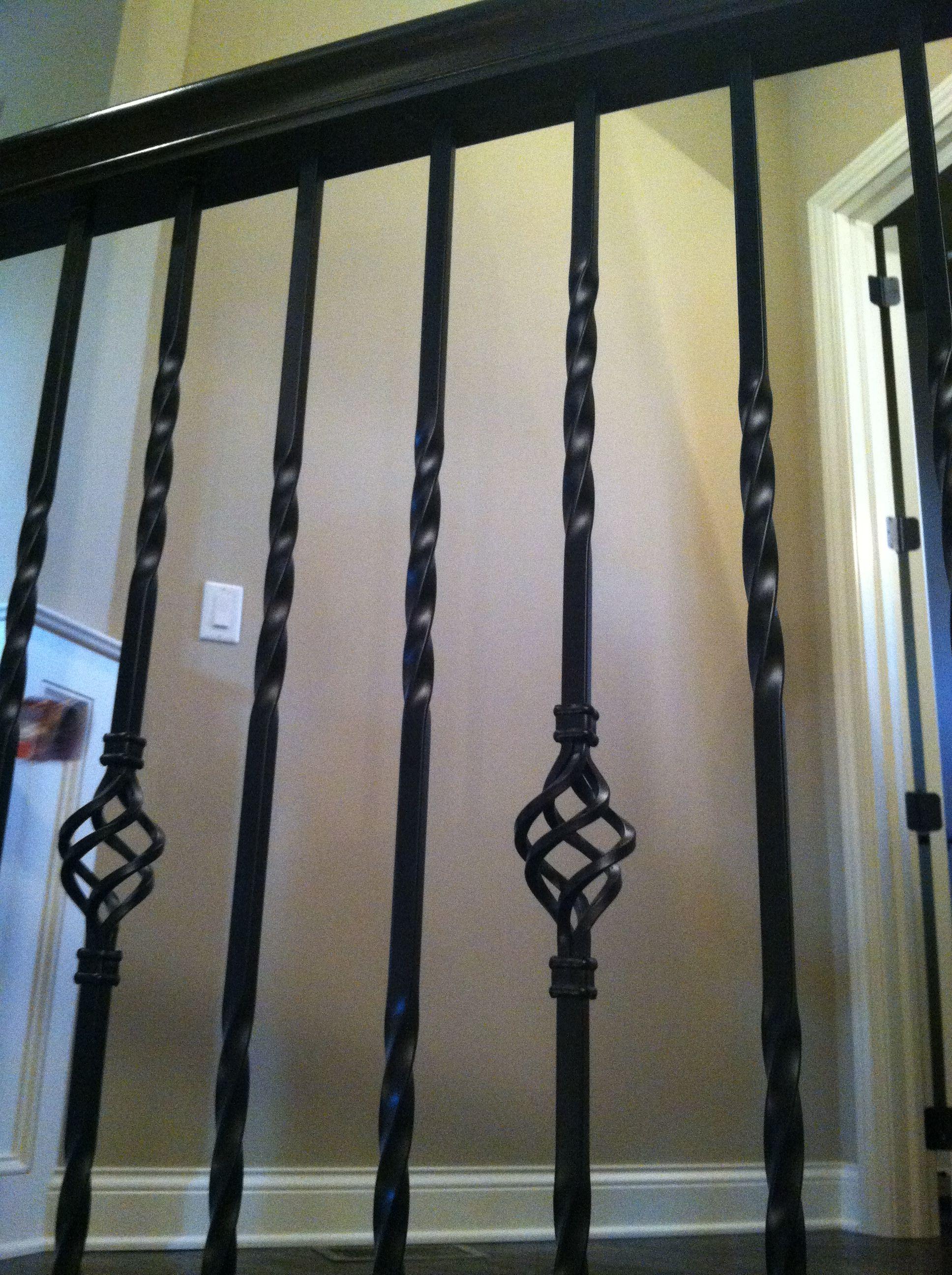 Wrought Iron Railing Interior Details Pinterest