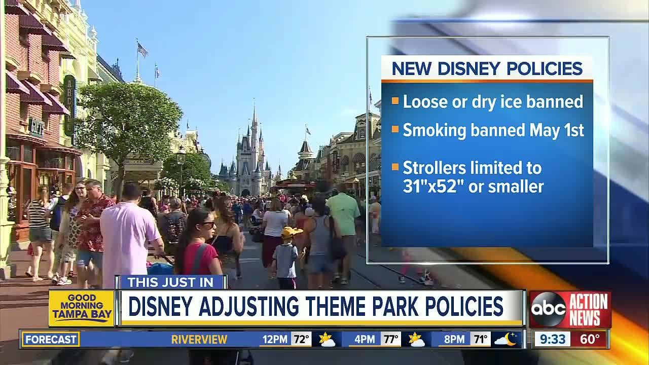New Stroller Rules Walt Disney World parks changing