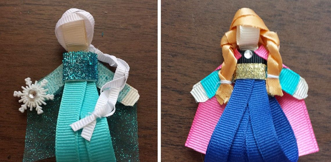 Frozen Inspired Hair Clips | Sassy Steals