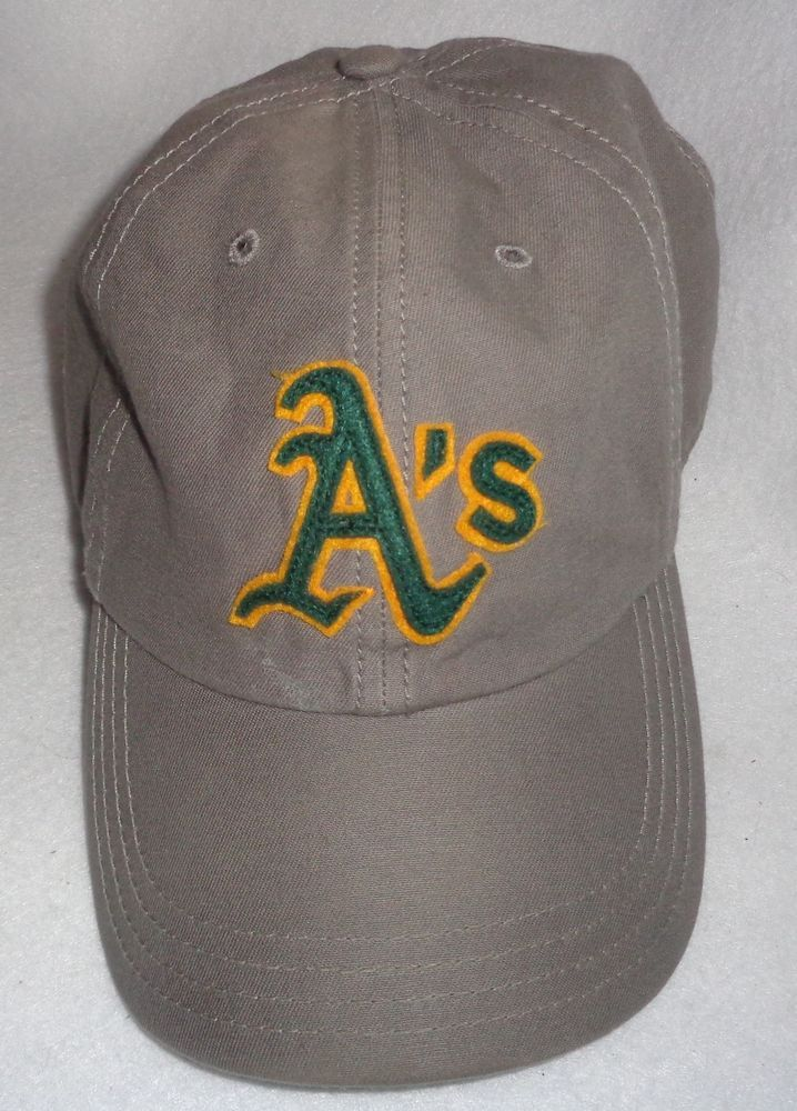 Oakland A s Athletics Baseball Hat MLB Adjustable Cap Memorabilia Grey   Athletics  OaklandAsAthleticsBaseballHat  OaklandAsAthletics c6658af9c2a