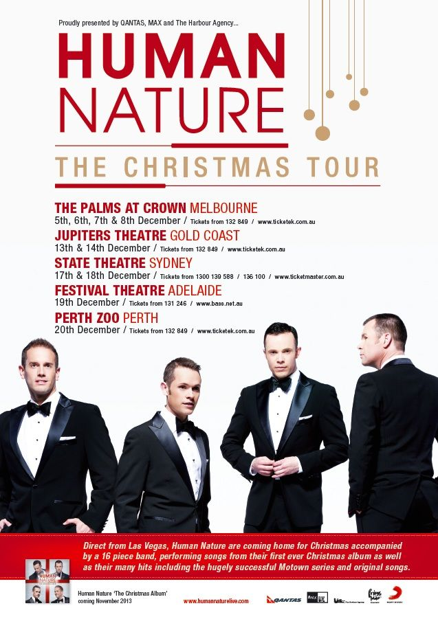 Human Nature The Christmas Tour | Jupiters, 14 Dec 2013
