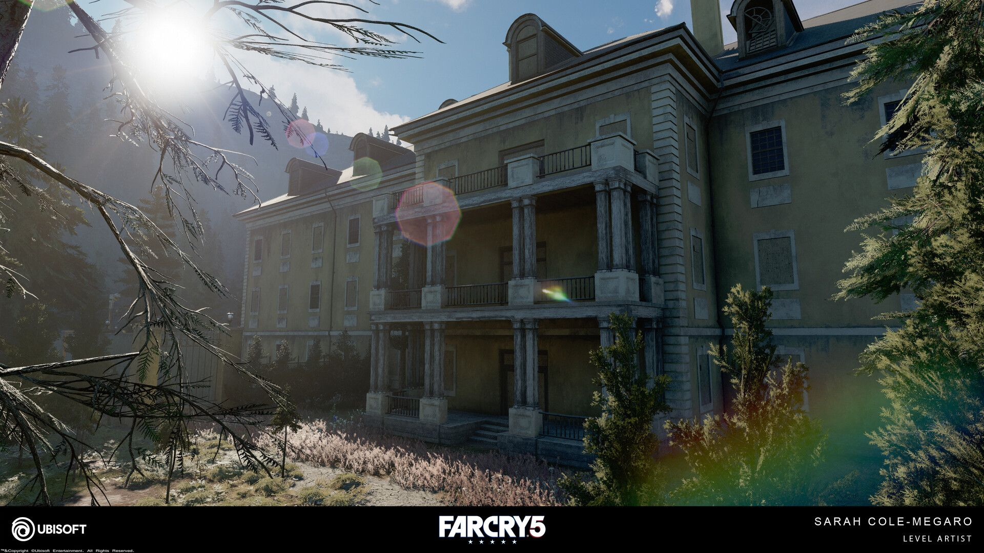 Far Cry 5 By Sarah Cole Megaroi Was The Level Artist Responsible For The St Francis Veterans Hospital Location And F A N G Veteran Hospital Far Cry 5 Hospital
