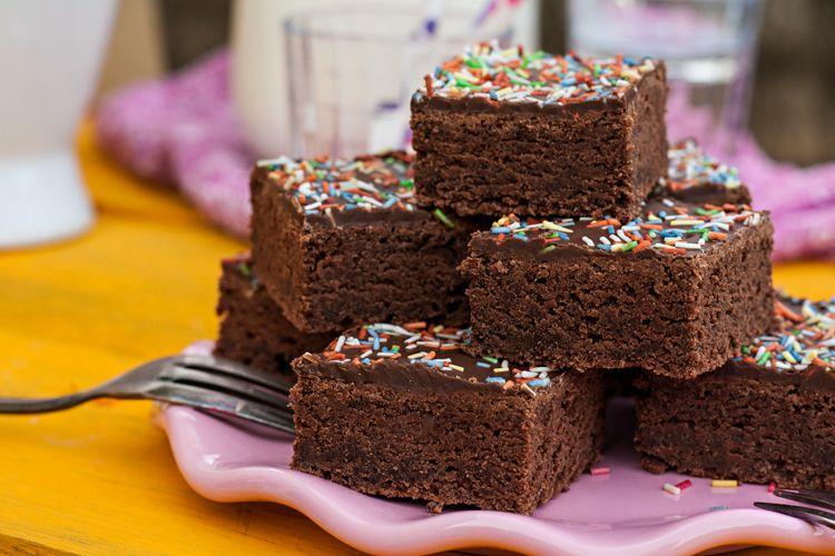 Rezept: Schneller, Schokoladiger Buttermilchkuchen Aus Dem