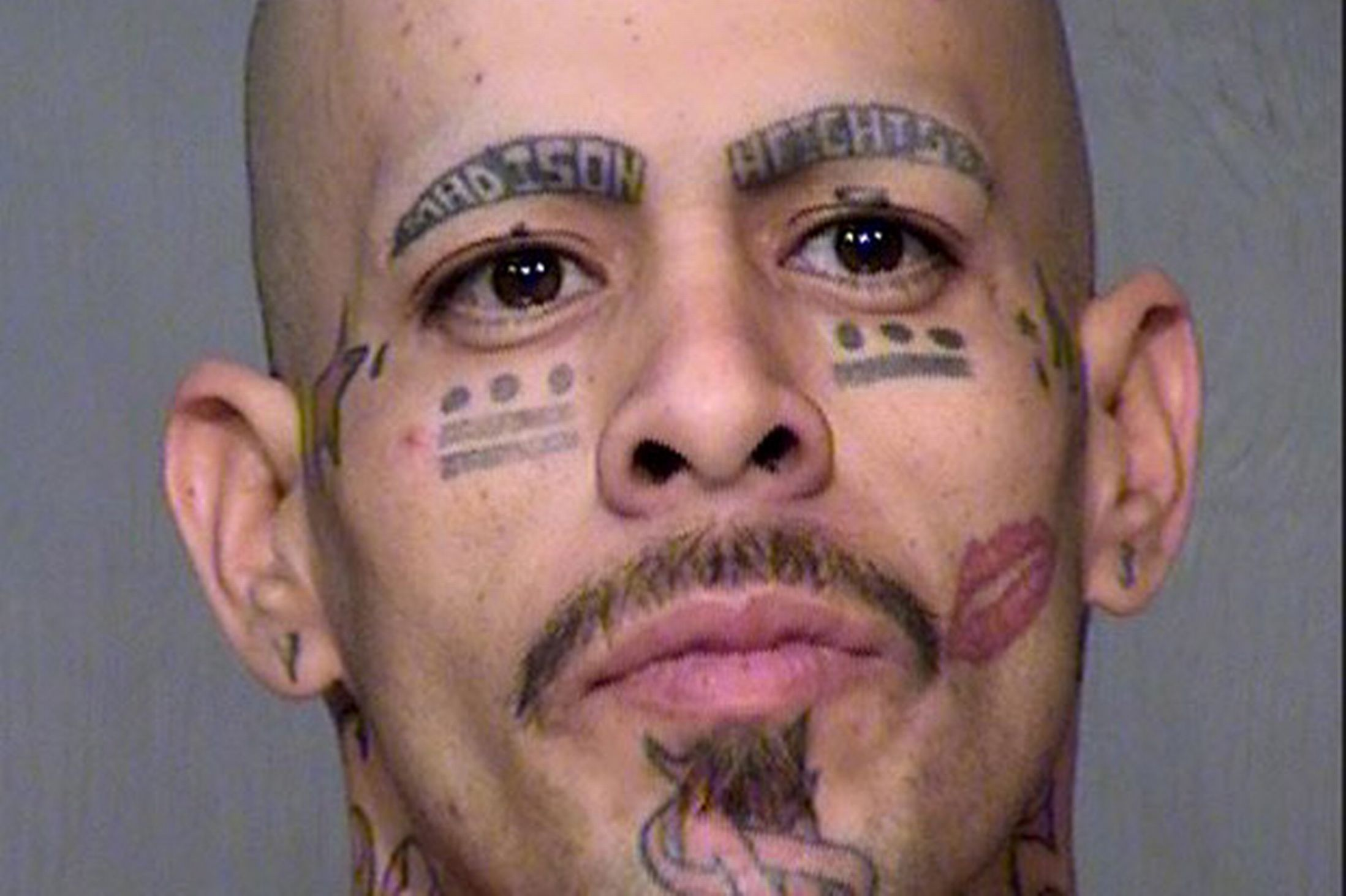 Horrible tattoo ideas - Rogues Gallery Horrendous Haircuts Terrible Tattoos And Awful Outfits In The Stupidest Mugshots Ever